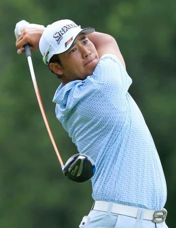 ゴルフ、松山英樹は20位