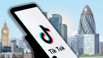 TikTokの徹底検証、英議員が要求 ロンドン本社設置めぐり