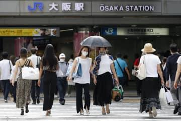 列島、真夏日や猛暑日が今年最多 京都、5日に38度予想 画像
