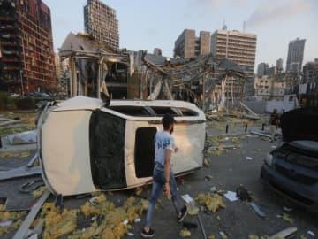 Germany says embassy staff hurt in Beirut blasts