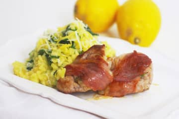 Recipe: Work up an appetite making - and eating - this lemony risotto