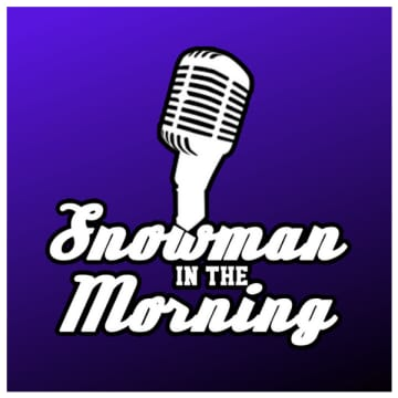 Snowman in the Morning - Thursday August 6th 2020