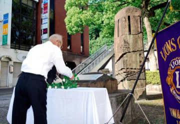 広島原爆の日 宇和島ライオンズが追悼式 核廃絶、努力たゆまず