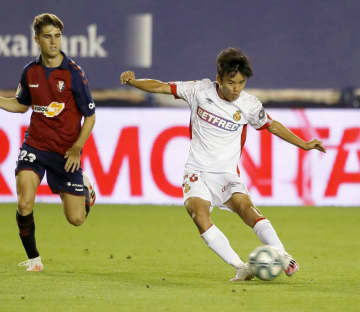 Soccer: Japan wunderkind Kubo moves to Villarreal on 1-year loan
