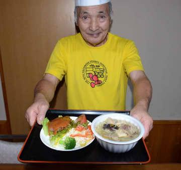 塩味馬肉鍋やジビエハンバーグ商品化 館鼻朝市で販売/「くるりん」(五戸町)