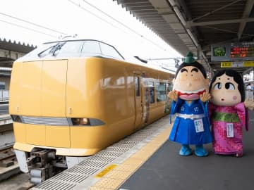 JR西日本に明智光秀ラッピング列車登場!ゆかりの地・人物で北近畿エリアをアピール