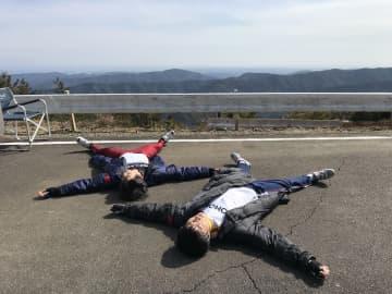 「光合成してる」永瀬廉&伊藤健太郎のひなたぼっこ写真