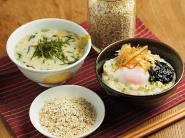 はじめてのオートミールレシピ 第2回 オートミールをお米の代わりに - お茶漬け風とごちそう卵かけご... 画像