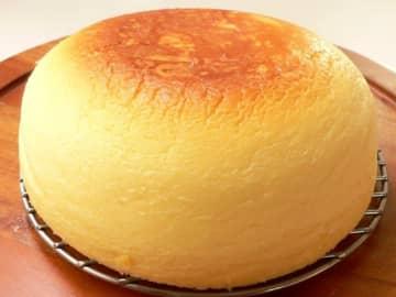 超絶ふわふわ! 炊飯器で作るまんまるチーズケーキ