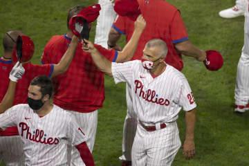 Phillies' Jake Arrieta looks sharp in 5-0 win over Braves