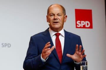 独連立与党SPD、メルケル氏後任候補にショルツ財務相指名 画像
