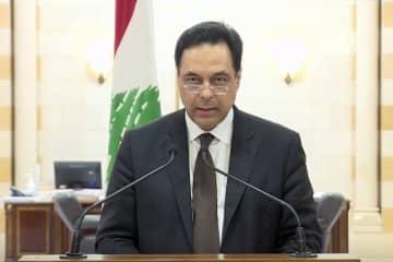 レバノン内閣総辞職、大規模爆発後に閣僚辞任相次ぐ