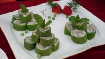野生キノコ料理コンテストでデザート作品が優勝 雲南省南華県