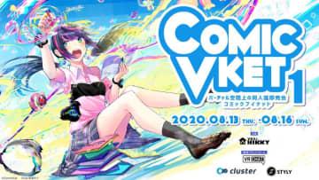 ドスパラのバーチャル店舗が出現! VR即売会「ComicVket 1」でクーポン配布