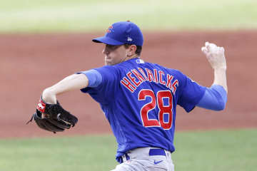 Kyle Hendricks and the Cubs complete a 2-game sweep of the Indians with a 7-2 win