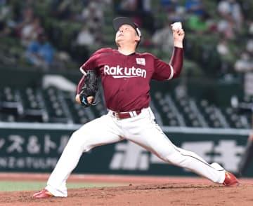 楽天・松井 1軍復帰2戦目は今季最短KO 3回6安打3失点