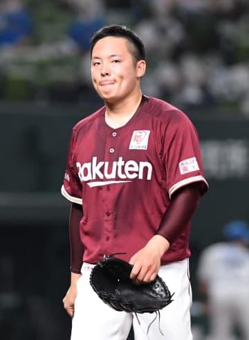 楽天・松井、今季最短3回KO 三木監督「ボール先行…反省点の多い投球だった」