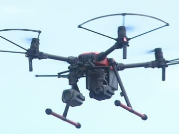 30倍ズームの高性能カメラ装備…消防署にドローン導入 南海トラフ地震等大規模災害で活用へ