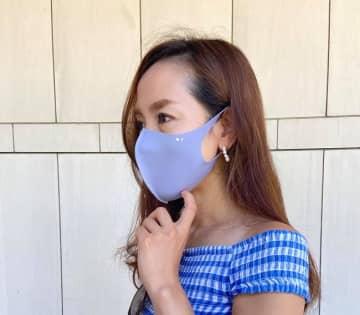 耳の痛み、肌への刺激からガード! ストレッチ素材のマスクが登場。