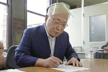 愛知県知事のリコール署名開始