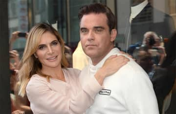 Robbie Williams and Ayda Field save money by sharing 'bath water'