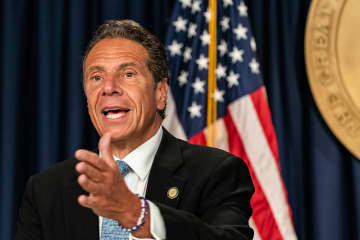 Cuomo slams Trump as 'maniacal,' calls him a 'joke' for threatening to pull federal funds from NYC