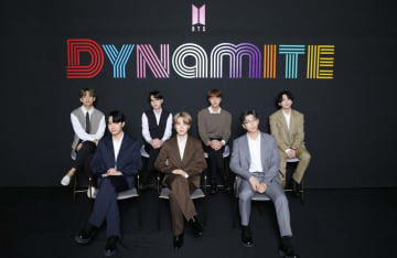 BTS 'having a hard time grasping' success of their new single 'Dynamite'