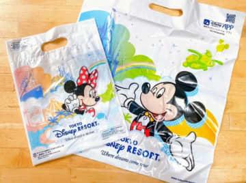 東京ディズニーリゾート、10.1から買い物袋を有料化! デザインも新しく