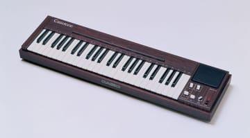 カシオの電子楽器「カシオトーン 201」、国立科学博物館の未来技術遺産に