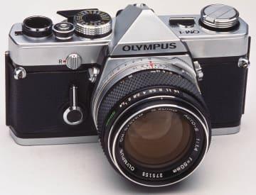 オリンパスのフィルム一眼レフ「OM-1」、国立科学博物館の未来技術遺産に