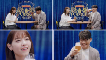 西野七瀬、美味しさに思わず恍惚の表情! 『アサヒ ザ・リッチ』 WEB限定CM出演