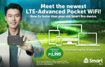 Smart makes LTE-advanced pocket WiFi available to prepaid subscribers