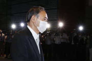 菅義偉首相=9月16日、首相官邸