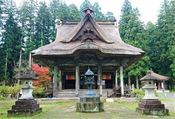 笹野観音堂(県提供)