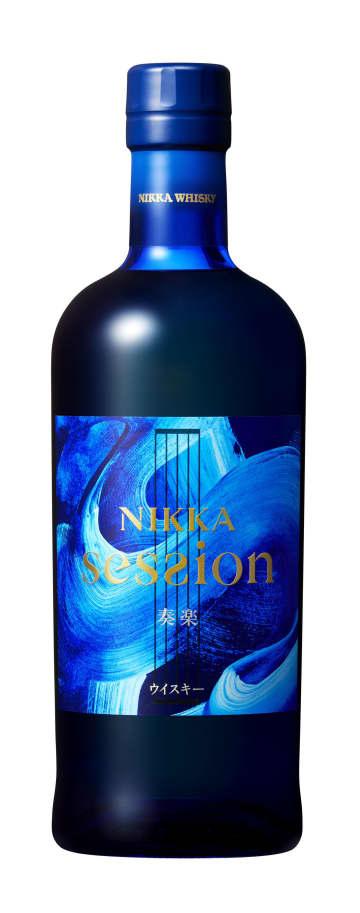 アサヒビールが販売する、高級ウイスキーの新ブランド「ニッカ セッション」