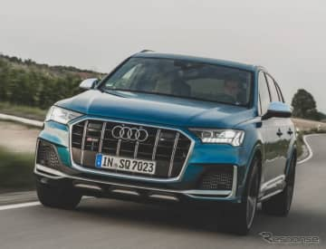 アウディ SQ7 改良新型、507馬力のガソリンターボ搭載車を設定…今秋欧州発売へ