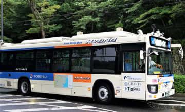 運転席無人の大型バス自動運転、横浜で日本初の営業運行実施 10月5日・14日