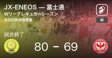 【Wリーグレギュラーシーズン】JX-ENEOSが富士通を破る
