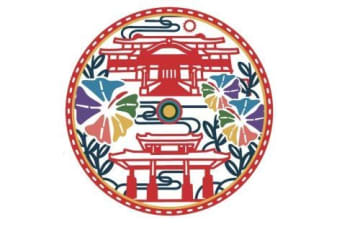 紅型スタイルのカラフル首里城 マンホール図柄に決定 デザインは川平勝也さん