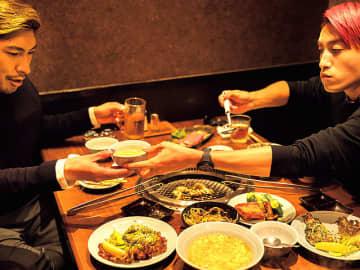 芸人・EXITが伝説の焼肉店『静龍苑』で本音で語り合ったら、想像以上に熱かった!