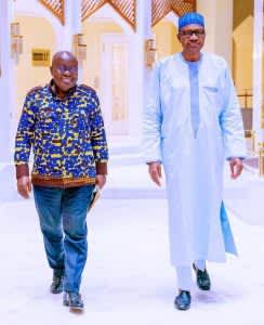 Buhari Hosts Akufo-Addo
