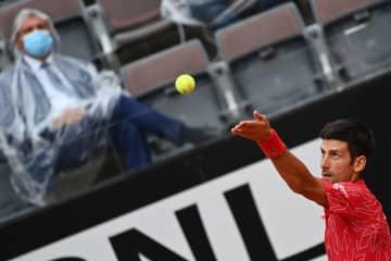 Djokovic wins record 36th Masters title in Rome; Halep beats Pliskova