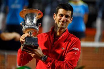 テニス=イタリア国際、ジョコビッチが5回目の優勝