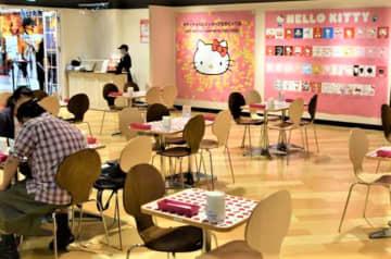 ハローキティがお出迎え! 成田空港第2ターミナルに期間限定カフェ