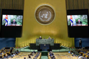 Cuba tells UN the pandemic is worse in a capitalist system