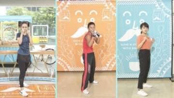 後藤晴菜&尾崎里紗アナがフィットネス番組「おいしい昼食を」