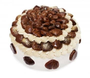 「カフェコムサ」初のショートケーキフェア開催! 栗や柿など、秋の味覚がたっぷり