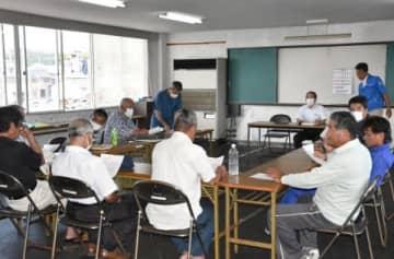 〈馬毛島問題〉「国調査の同意撤回を」 種子島漁協西之表組合員が理事会に要請