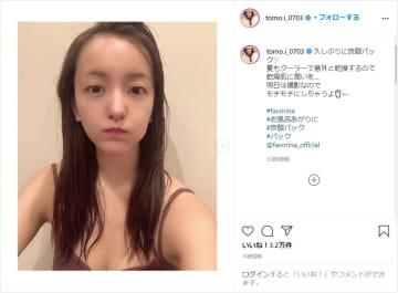 板野友美、お風呂上がりのモチ肌すっぴんショット公開!!もはや天使!?
