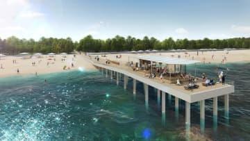 「海へ延びるウッドデッキ」設置へ 千葉市・稲毛海浜公園 カフェも開設、リゾート感演出